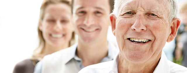 senior gentleman with a great smile - experienced dentists for seniors