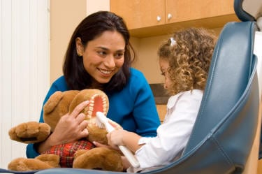 pediatric dentists know how to teach your child about oral hygiene in fun and engaging ways.