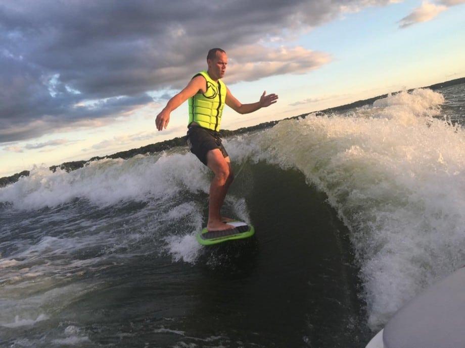 Dr Gustavson Wake Surfing